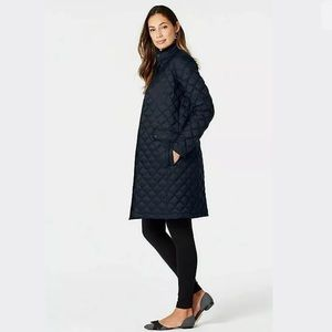 J. Jill Quilted Down Puffer Jacket Coat 2X Plus